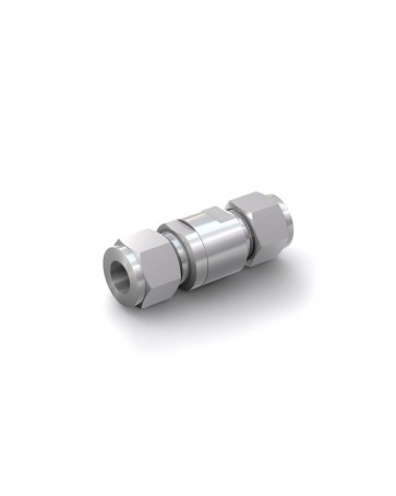 Válvula antirretorno acero inox - tubo Ø 12 mm / tubo Ø 12 mm - máx. 250 bar - DN 6 mm