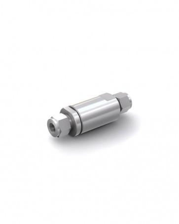 Válvula antirretorno acero inox - tubo Ø 12 mm / tubo Ø 12 mm - máx. 250 bar - DN 10 mm