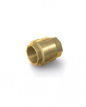 "Válvula antirretorno latón - G2"" hembra / G2"" hembra - máx. 20 bar - DN 50 mm"