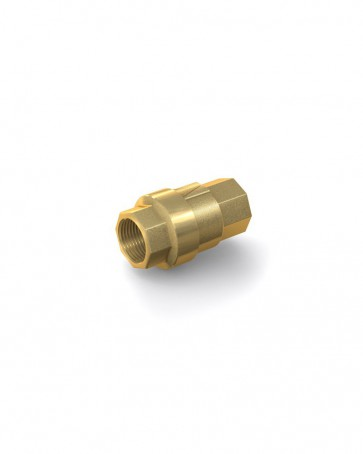 "Válvula antirretorno latón - G3/8"" hembra / G3/8"" hembra - máx. 40 bar - DN 10 mm"