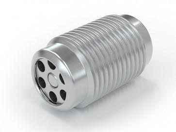Válvula antirretorno acero inox - M10x1,0 macho / M10x1,0 macho - máx. 250 bar - DN 3,6 mm
