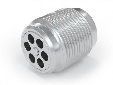 """Válvula antirretorno acero inox - G3/8"""" macho / G 3/8"""" macho - máx. 250 bar - DN 7 mm"""