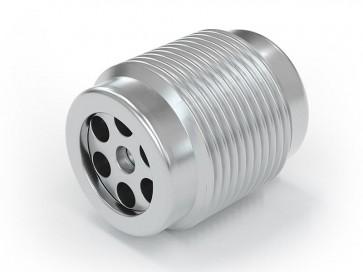 """Válvula antirretorno acero inox - G1/4"""" macho / G 1/4"""" macho - máx. 250 bar - DN 6 mm"""