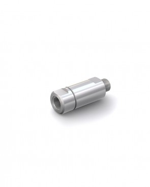 "Válvula antirretorno acero inox - G1/2"" macho / G1/2"" hembra - máx. 250 bar - DN 14 mm"