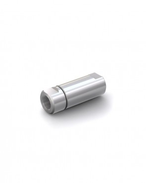 "Válvula antirretorno acero inox - G1/2"" hembra / G1/2"" hembra - máx. 250 bar - DN 14 mm"
