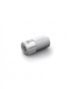 "Válvula antirretorno acero inox - G1/4"" hembra / G1/4"" hembra - máx. 250 bar - DN 6 mm"
