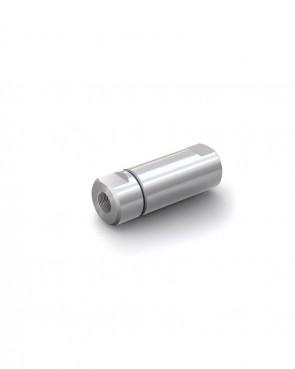"Válvula antirretorno acero inox - G3/8"" hembra / G3/8"" hembra - máx. 250 bar - DN 14 mm"