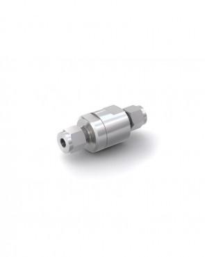 Válvula antirretorno acero inox - tubo Ø 8 mm / tubo Ø 8 mm - máx. 150 bar - DN 6 mm