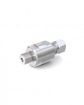 "Válvula antirretorno acero inox - tubo Ø 8 mm / G1/4"" hembra - máx. 150 bar - DN 6 mm"