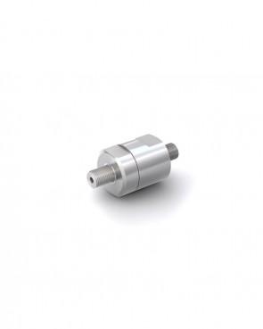 """Válvula antirretorno acero inox - G1/8"""" macho / G1/8"""" macho - máx. 250 bar - DN 3 mm"""