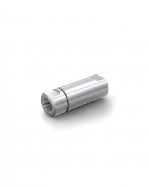 "Válvula antirretorno acero inox - G1/2"" hembra / G1/2"" hembra - máx. 250 bar - DN 6 mm"