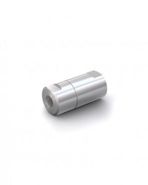 "Válvula antirretorno acero inox - G1/8"" hembra / G1/8"" hembra - máx. 250 bar - DN 6 mm"