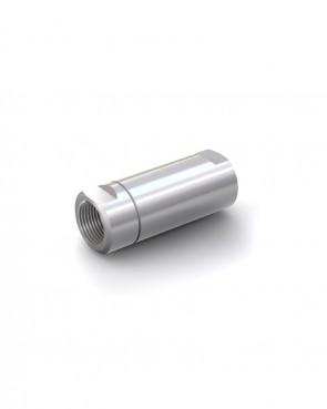 "Válvula antirretorno acero inox - G1"" hembra / G1"" hembra - máx. 250 bar - DN 20 mm"
