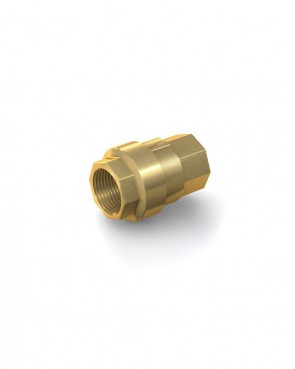 "Válvula antirretorno latón - G1/2"" hembra / G1/2"" hembra - máx. 40 bar - DN 15 mm"