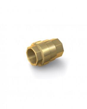 "Válvula antirretorno latón - G1"" hembra / G1"" hembra - máx. 30 bar - DN 25 mm"