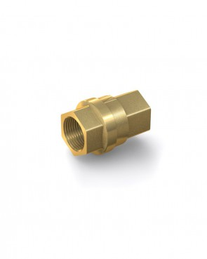 "Válvula antirretorno latón - G3/4"" hembra / G3/4"" hembra - máx. 30 bar - DN 20 mm"