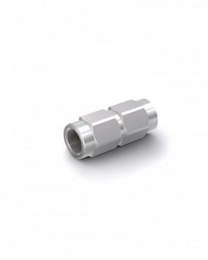 "Válvula antirretorno acero galvanizado - G3/8"" hembra / G3/8"" hembra - máx. 300 bar - DN 10 mm"