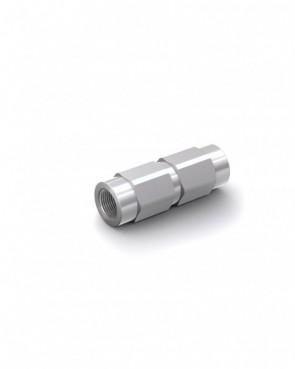 "Válvula antirretorno acero galvanizado - G1/8"" hembra / G1/8"" hembra - máx. 300 bar - DN 4 mm"